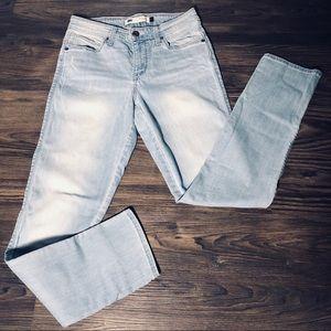 Levi's Flatter & Flaunt Skinny Leg Jeans Sz 6